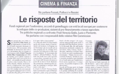 CINEMA & VIDEO: LE RISPOSTE DEL TERRITORIO