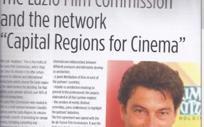 LE FILM FRANCAIS: THE LAZIO FILM COMMISSION AND THE NETWORK