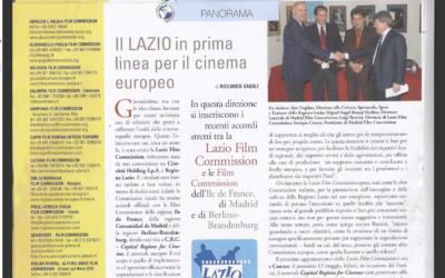 """PROFILM ITALIA: """"IL LAZIO IN PRIMA LINEA PER IL CINEMA EUROPEO"""""""